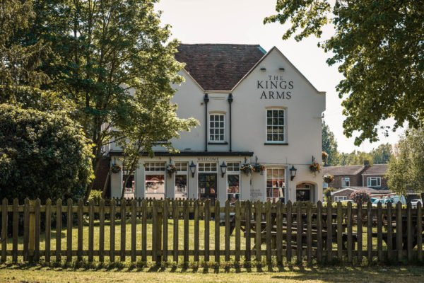 The Kings Arms pub in Newport Pagnell