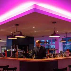 Harben House Bar In Newport Pagnell