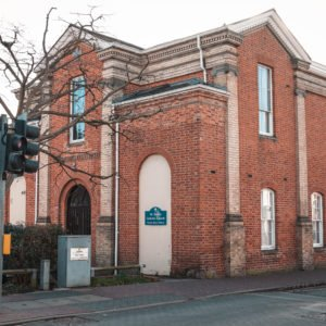 St Bede's Church in Newport Pagnell High Street