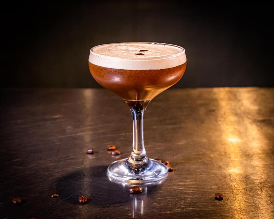 Photograph of Expresso Martini served at Craft and Skewers Newport Pagnell High Street